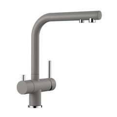 Смеситель для кухни с подводкой для фильтра Blanco Fontas II Silgranit 525140 фото