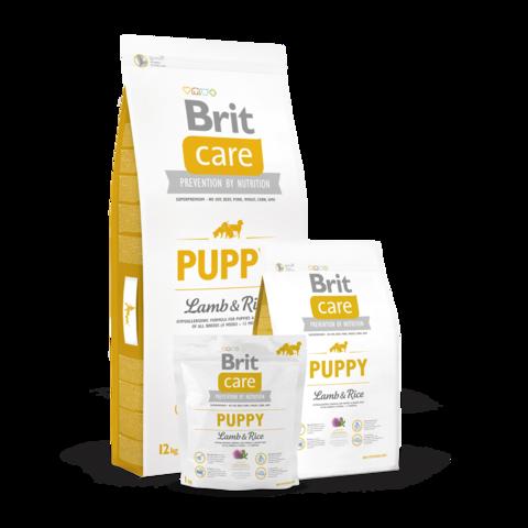Brit Care Puppy All Breed Сухой корм для щенков всех пород Ягненок и Рис