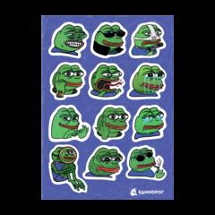 Набор стикеров Pepe