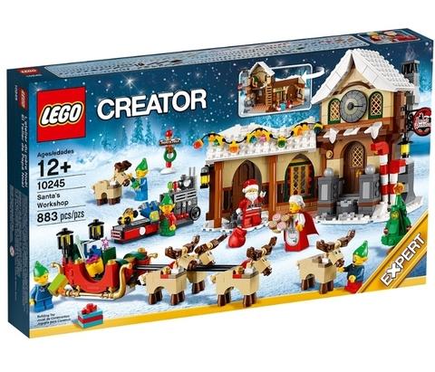 LEGO Creator: Мастерская Санта-Клауса 10245 — Santa's Workshop — Лего Креатор Создатель