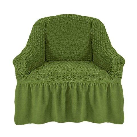 Чехол на кресло, изумруд