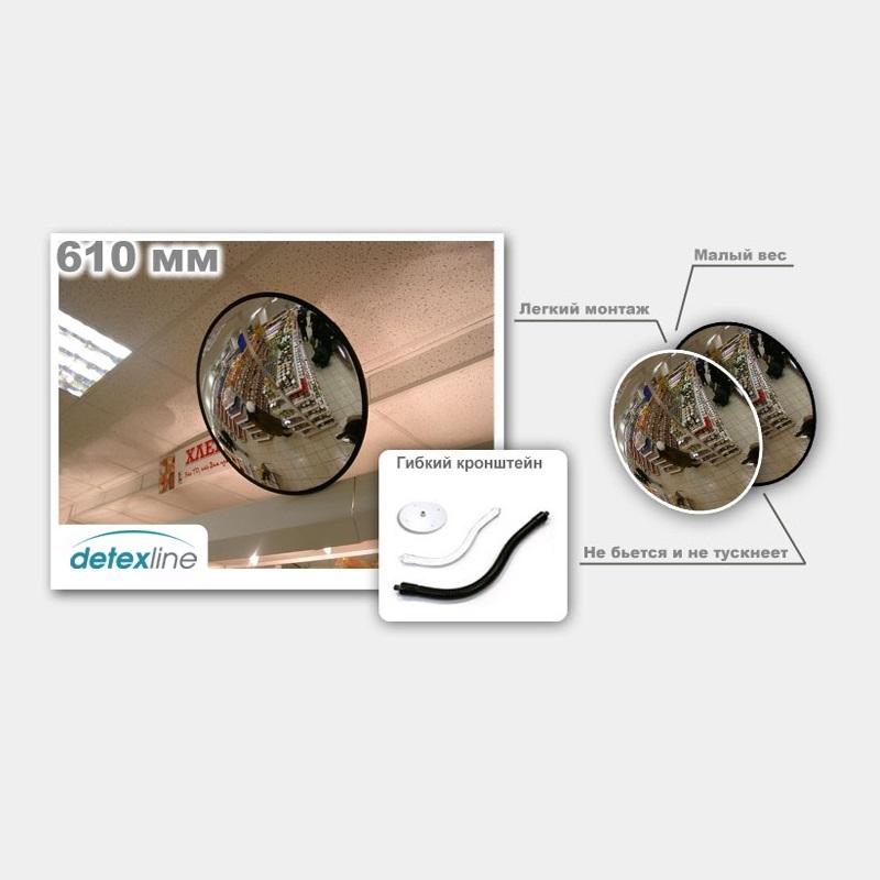 Сферическое зеркало DL 610 мм