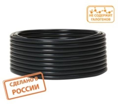 Труба гладкая техническая ПНД d 25(с) черная TDM