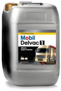 Mobil Delvac 1 5W40 Синтетическое масло для дизельных двигателей