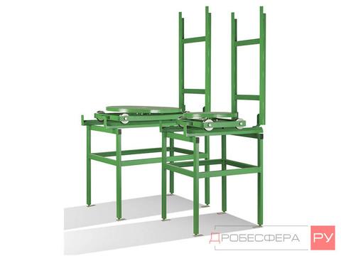 Пути внешние для пескоструйного стола 800 мм