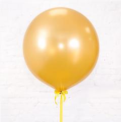 большой шар, шары гиганты, золотой шар