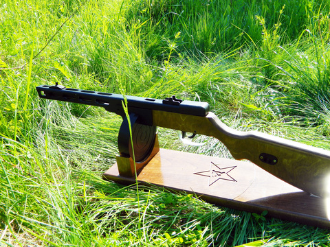 PPSh-41 wood stand