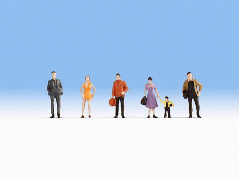 Пешеходы (6 человечков)
