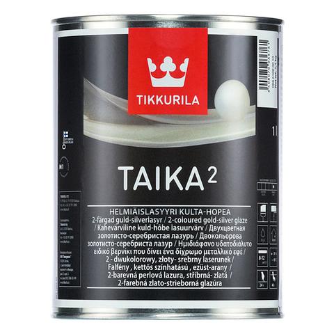 Tikkurila Taika 2/Тиккурила Тайка 2 двухцветная перламутровая лазурь