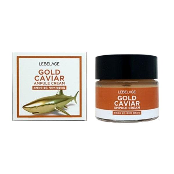 Крем для глаз с экстрактом икры Lebelage Eye Ampule Cream Gold Caviar 70мл