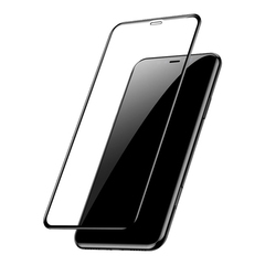 Защитное 3D-стекло для iPhone XR Black - Черное