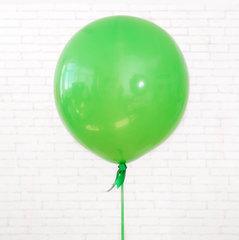 большие шары, шар гигант, зеленый шар