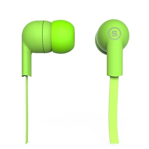Наушники вакуумные S-Music Start CX-110 green