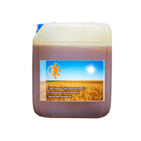 Неохмеленный солодовый экстракт темный 7 кг.