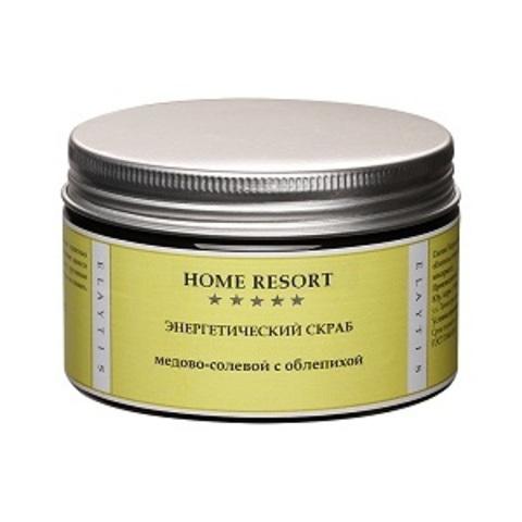 Энергетический медово-соляной скраб, 350г