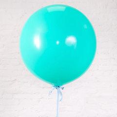 большие шары, шар гигант, тиффани шар, мятный шар