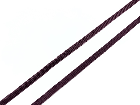 Резинка отделочная слива 4 мм (цв. 076)
