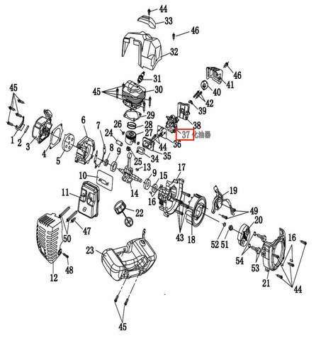 Карбюратор  для лодочного мотора T2 SEA-PRO