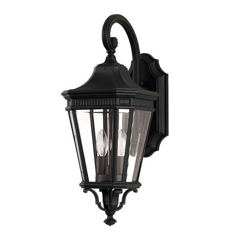 Настенный фонарь Feiss, Арт. FE/COTSLN2/M BK