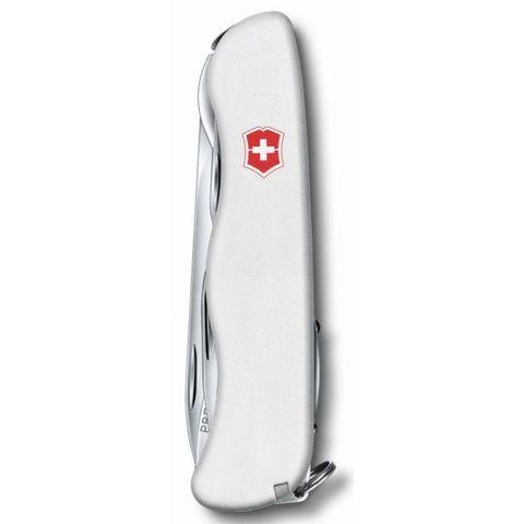 Нож перочинный Victorinox Forester (0.8363.7R) 111мм 12функций белый