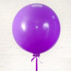 большие шары, шар гигант, сиреневый шар, фиолетовый шар