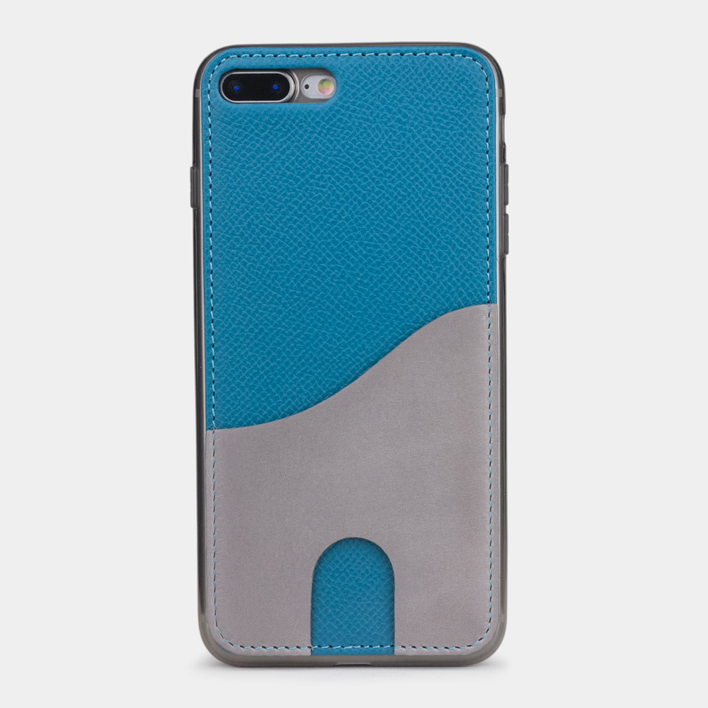 Чехол-накладка Andre для iPhone 7 Plus из натуральной кожи теленка, морского цвета