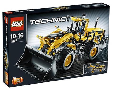LEGO Technic: Экскаватор с передним ковшом 8265 — Front Loader — Лего Техник