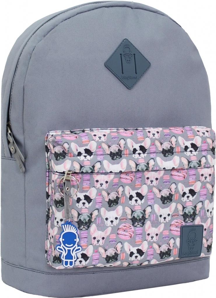 Городские рюкзаки Рюкзак Bagland Молодежный W/R 17 л. 316 сірий 144 (00533662) c7dfb33d2c4962990e115bd6fd69a3a9.JPG