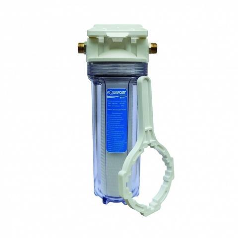 Фильтр  Aquapost Best  1/2 (прозрачный ) механика