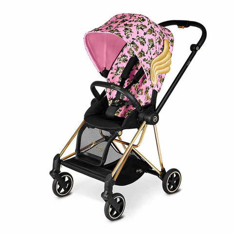 Прогулочная коляска Cybex Mios FE JS Cherubs Pink