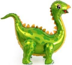 К Ходячая Фигура, Динозавр Стегозавр, Зеленый,  39''/99 см, 1 шт.