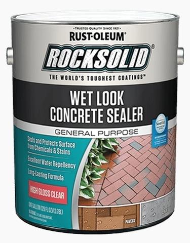 Wet Look Concrete Sealer Пропитка для бетона с эффектом мокрого камня
