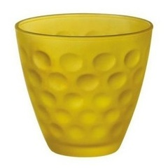Стакан 250мл Bormioli Rocco Dots Soft желтый