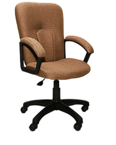 Кресло ПРЕМЬЕР 5Н газлифт ткань светло-коричневая