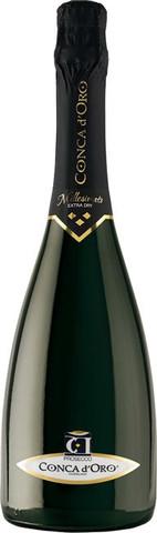 Игристое вино Conca d'Oro, Conegliano Valdobbiadene Prosecco Superiore Millesimato Extra Dry, 0.75 л