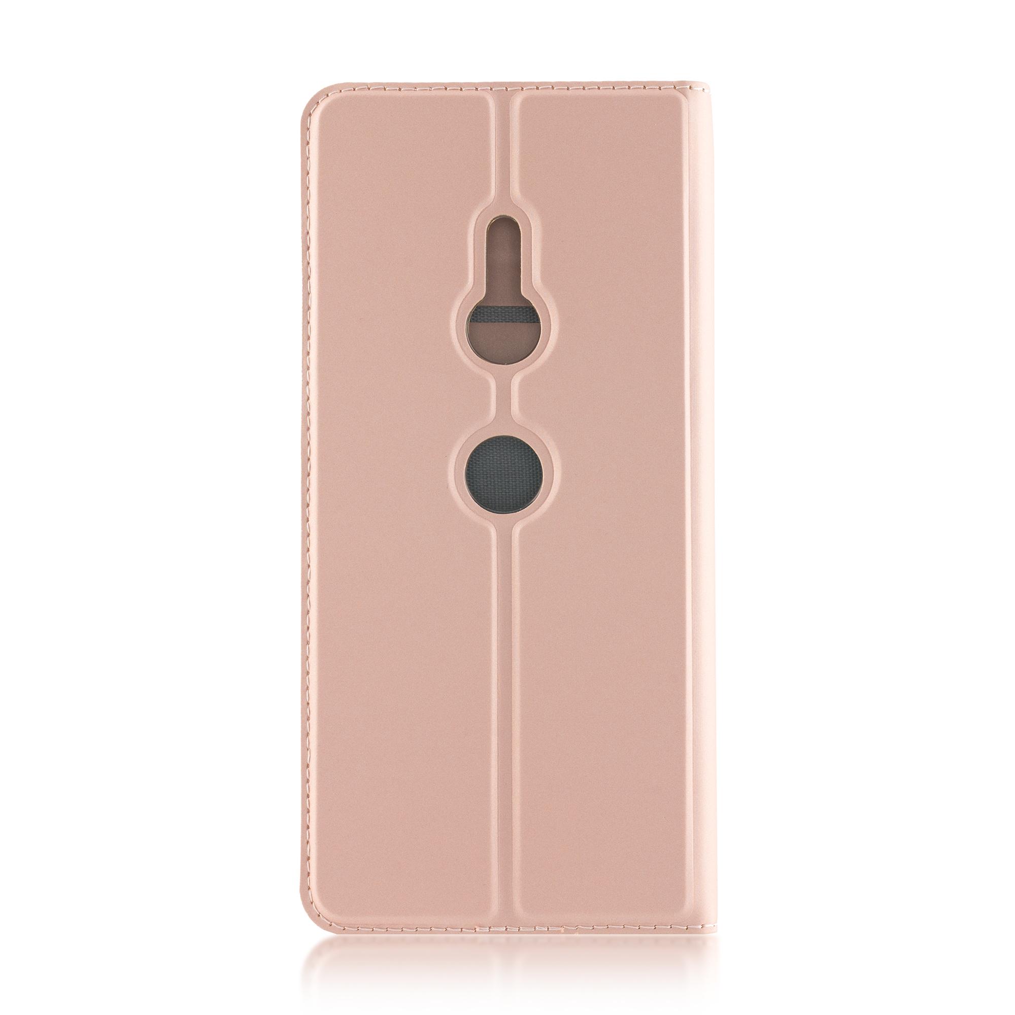 Чехол-книжка для Xperia XZ3 розового цвета в Sony Centre Воронеж