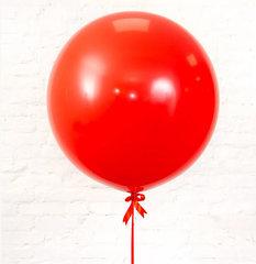 большие шары, шар гигант, красный шар