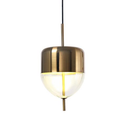 Подвесной светильник копия Flow S4 by Nao Tamura (Wonderglass) (золотой/прозрачный)