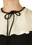 Платье из вискозы и ацетата VALENTINO