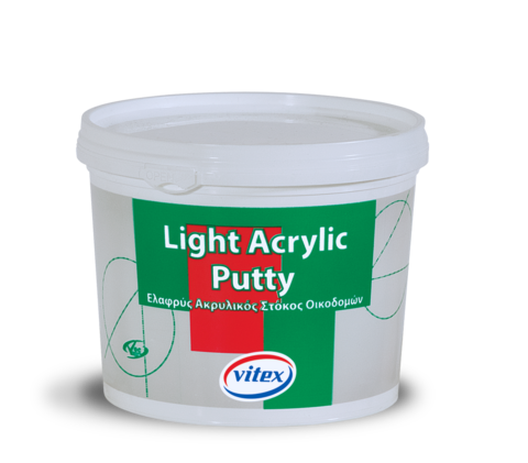 Акриловая шпаклевка для внутренних и внешних поверхностей Light Acrylic Putty