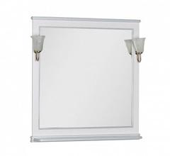 Зеркало Aquanet Валенса 100 белый краколет серебро