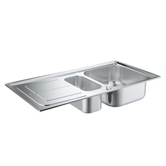 Мойка кухонная с двумя чашами Grohe 31564SD0 фото