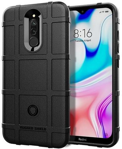 Чехол Xiaomi Redmi 8 цвет Black (черный), серия Armor, Caseport
