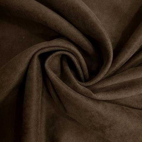 Канвас - ткань для штор - коричневый. Ширина - 280 см. Арт. 14