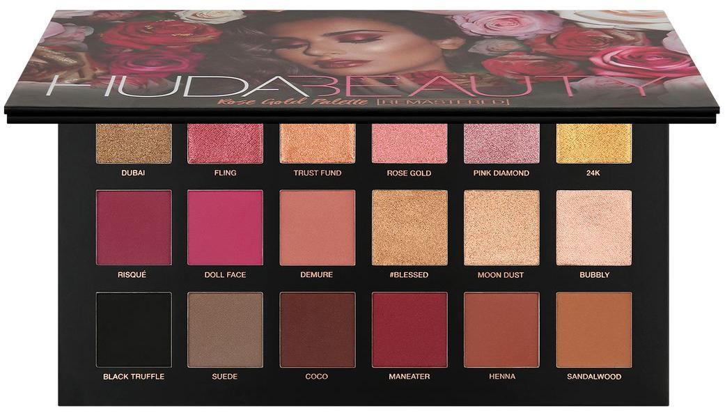 HUDA BEAUTY Rose Gold Remastered Palette палетка теней
