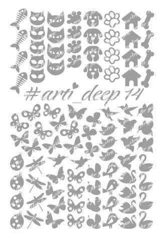 Трафарет Arti Deep № 14