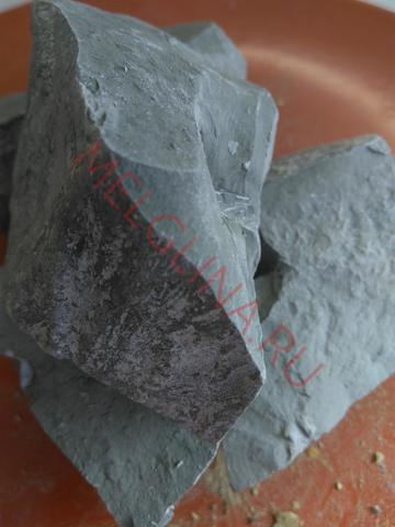 Глина узбекская Голубая соленая