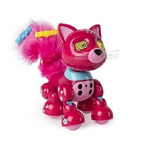 Интерактивный котенок красный Блоссом