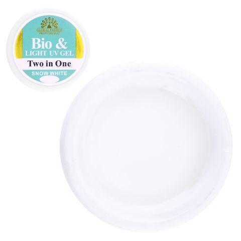 Гель био Global Fashion snow white 15 g
