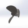 6815/3  WС Serie 3D Propeller 27cc steel